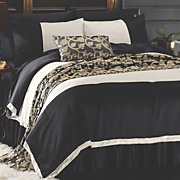 Majestic Comforter Set, Bed Scarf, Pillow and Window Treatment