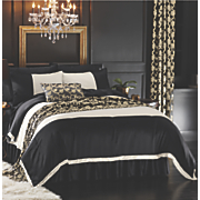 majestic comforter set  bed scarf  pillow and window treatment