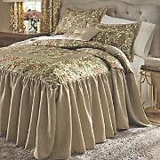 Amanda Skirted Comforter Set and Window Treatments