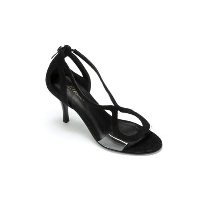 Swirl Open Toe Pump by Midnight Velvet