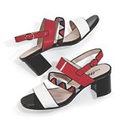 print center sandal by midnight velvet
