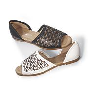 lattice cutout shoe by midnight velvet