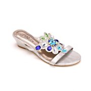 colored jewels sandal by midnight velvet