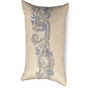 Beaded Scroll Pillow