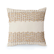 faux pearl pillow