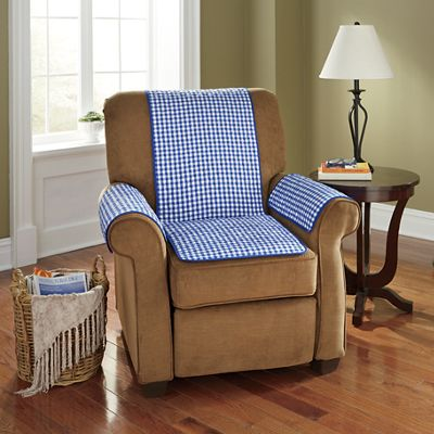 3-Piece Gingham Seat Protector