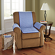 3 pc  gingham seat protector