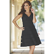 Eva Mesh Inset Dress