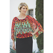 zigzag blouse