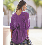 lace back sweater shrug