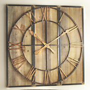 3 pc  clock art
