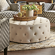 Tufted Ottoman Table