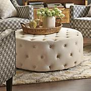 tufted ottoman table