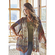 shania printed duster