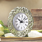 green round clock