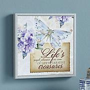 simple pleasures wall plaque