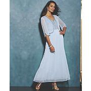 Dahlia Beaded Bodice Dress