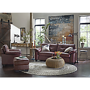 crimson chair  sofa  loveseat and ottoman
