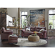 Crimson Chair, Sofa, Loveseat and Ottoman