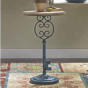 key accent table