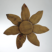 wood wall flower