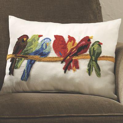 Decorative Bird Pillow