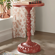 candlestick accent table
