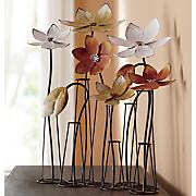 metal floral arrangement