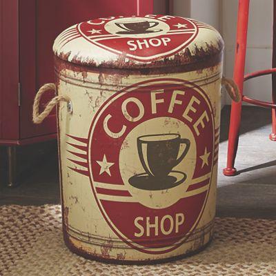 Coffee Storage Stool