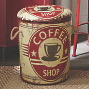 coffee storage stool