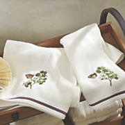 Huntington Embroidered Towels