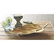 golden leaf tray