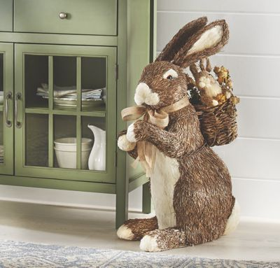 Large Bunny and Backpack