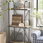 3 tier display shelf