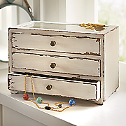 3 drawer jewelry holder