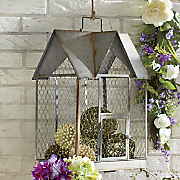 Decorative Chicken Wire House