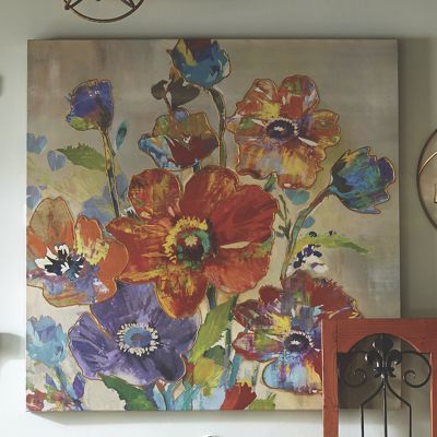 Bright Bouquet Canvas Print