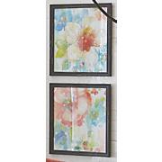 Set of 2 Floral Art