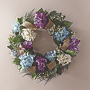 All-Season Hydrangea Wreath