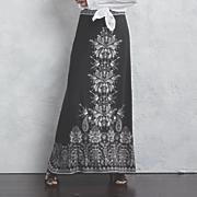border print skirt 98