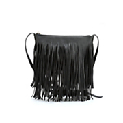 fringe crossbody handbag