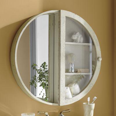 Round Mirror Cabinet