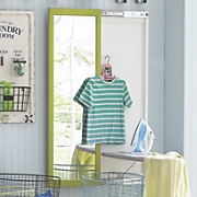wall mount ironing board and mirror