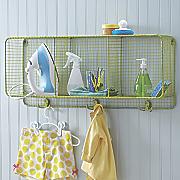 lime cubbie shelf
