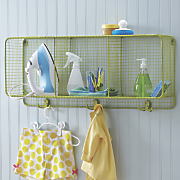 lime cubbie shelf