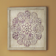 Purple Metal Tile Art