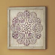 Purple Metal Tile Art