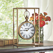 Hanging Gold Clock