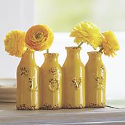 love stoneware vase