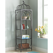 4-Tier Black Shelf